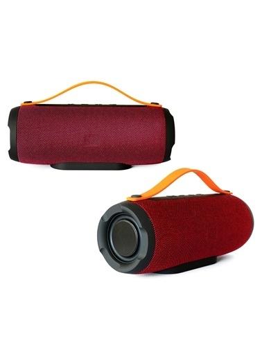 Platoon PL-4305 Bluetooth Speaker Fm/Sd/Usb Kırmızı